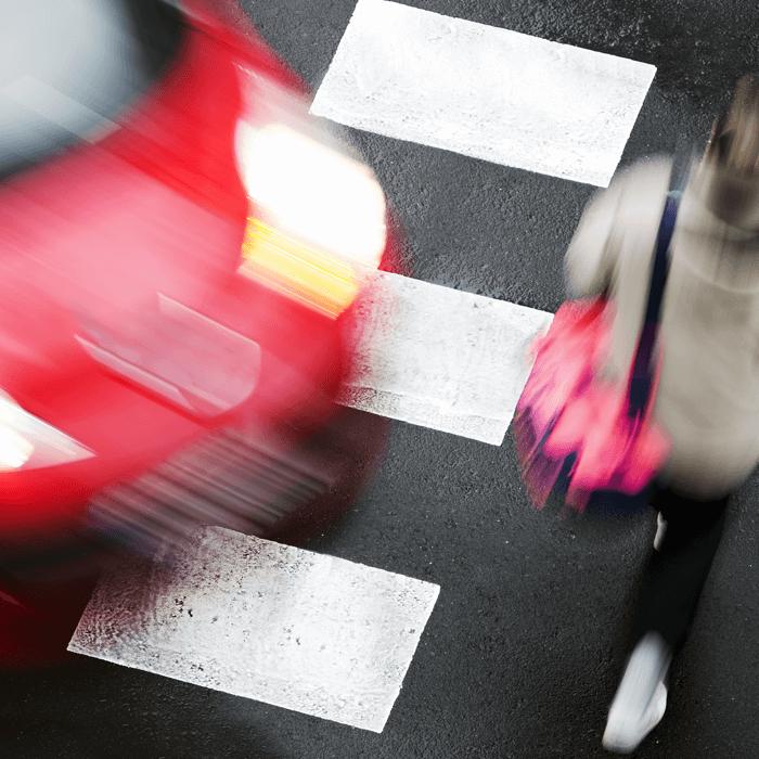 auto-pedestrian accident