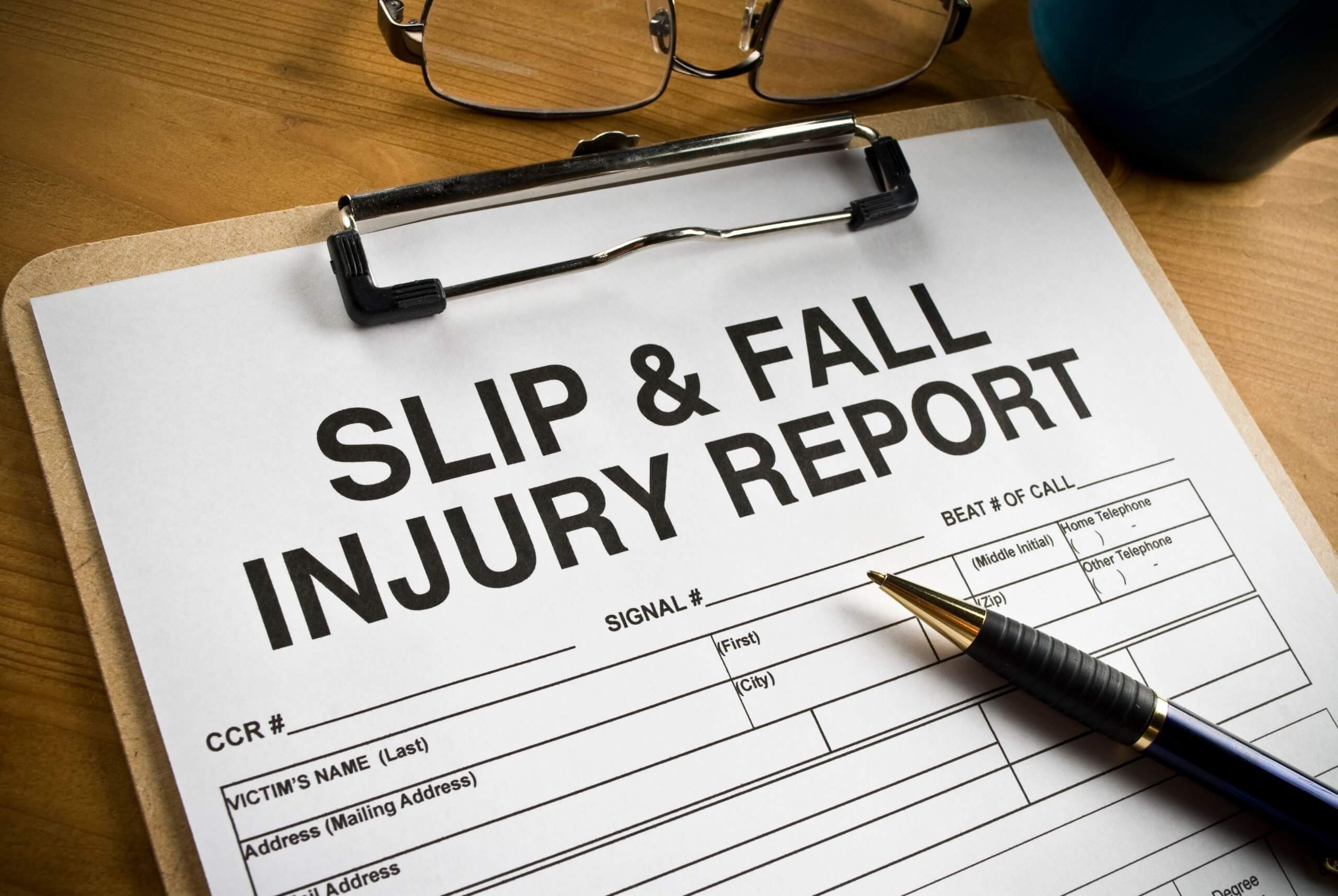 Is Slip and Fall a Personal Injury