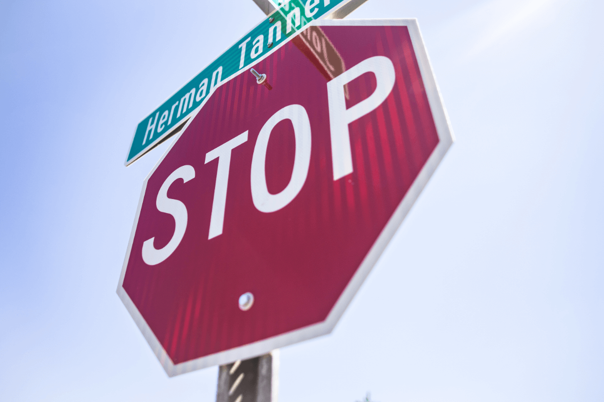 Car Accidents Caused By Running Stop Signs
